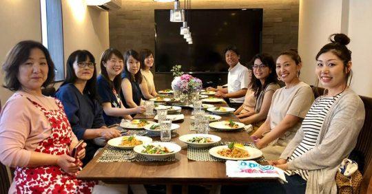 村上友美先生の料理教室に参加